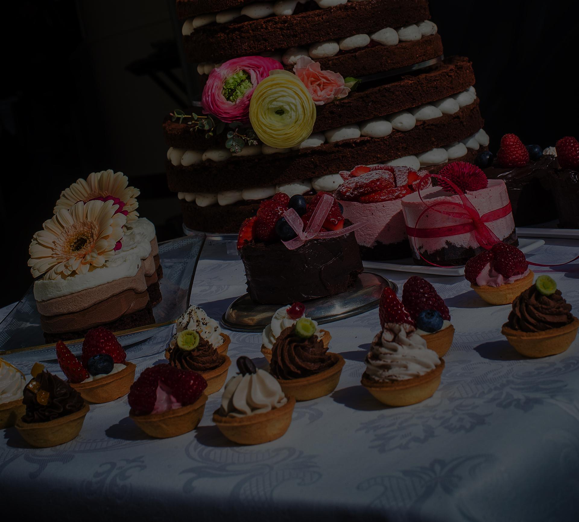 Esküvői desszertasztalok